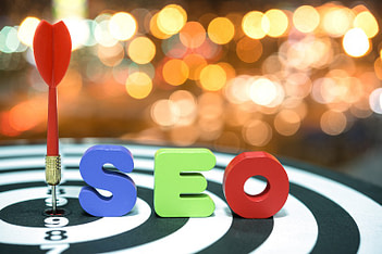 A blog post improves Search Engine Optimization (SEO) - a dart right in the center of a bullseye